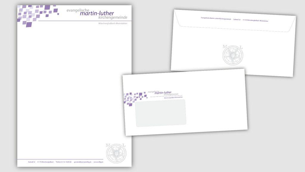 Martin-Luther-Kirche Briefbogen