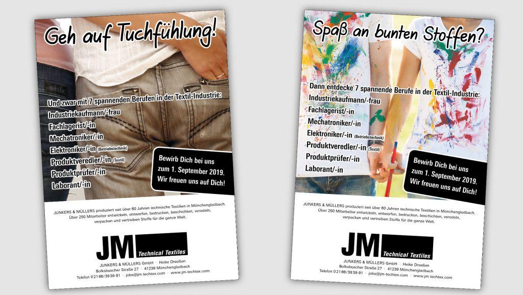 JM Textiles Anzeigen