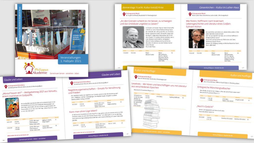Philippus Akademie Halbjahresprogramm