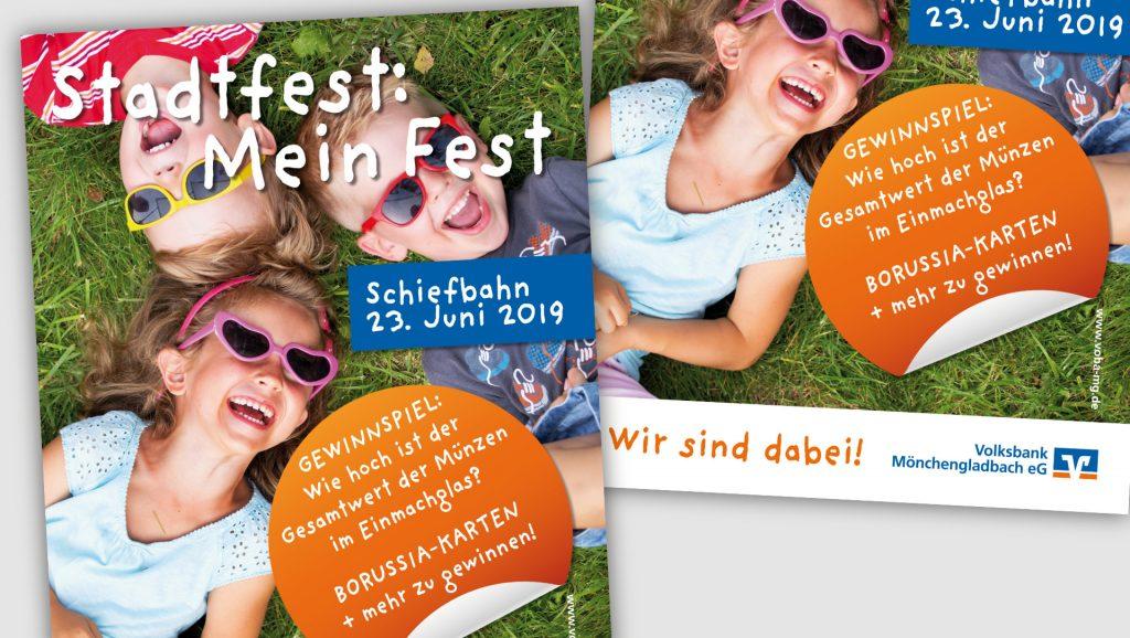 Volksbank Festplakat