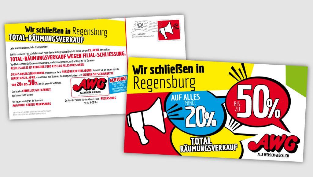 AWG Mailingpostkarte