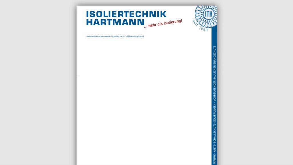 Hartmann Briefbogen