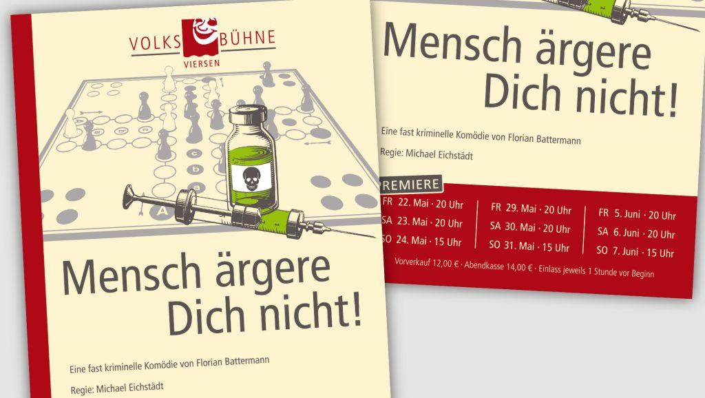 Volksbühne Viersen Plakat