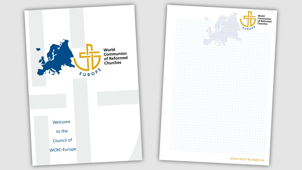 WCRC Europe Notizblock