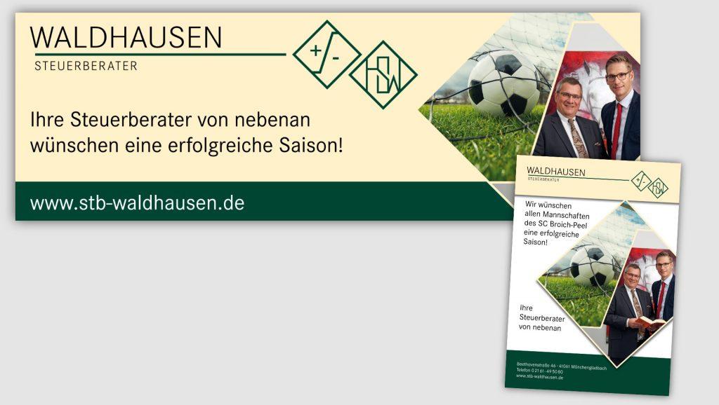 Steuerbüro Waldhausem Stadionwerbung