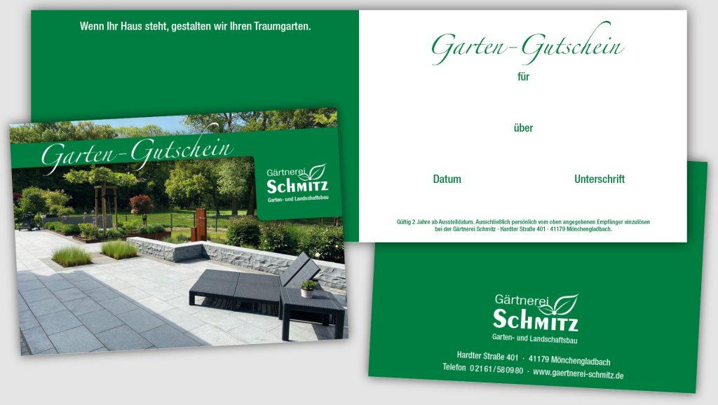 Gärtnerei Schmitz Gutschein
