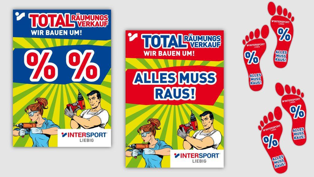 Intersport Liebig Poster