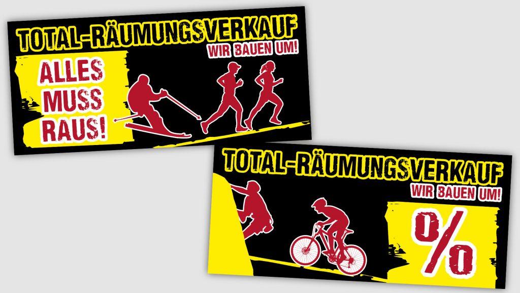 Sport 2000 Isartal Fensterposter
