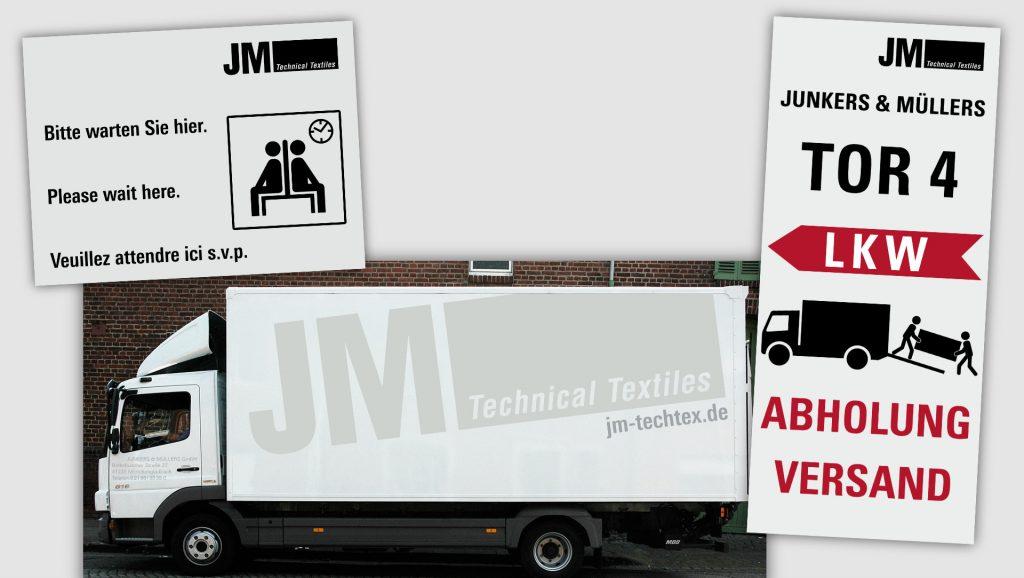 JM Textiles Fahrzeuge