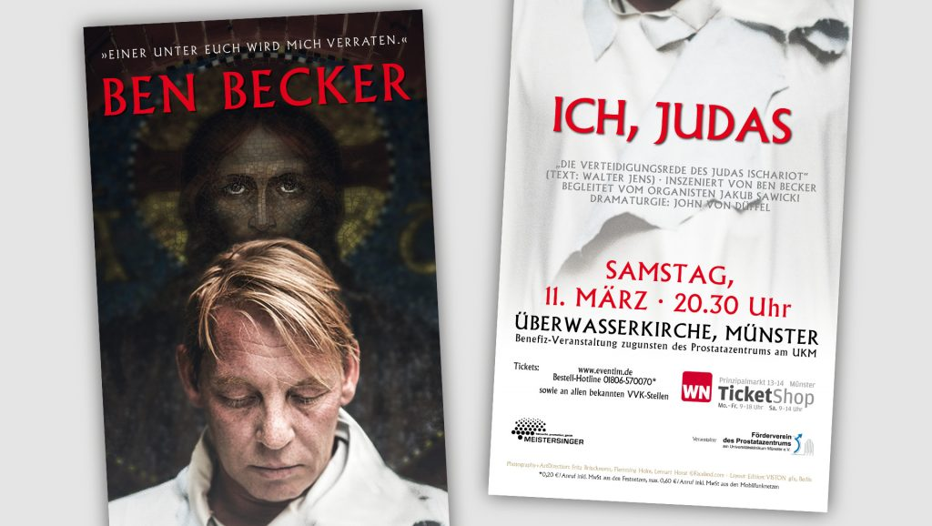 Uniklinik Münster Plakat Ben Becker