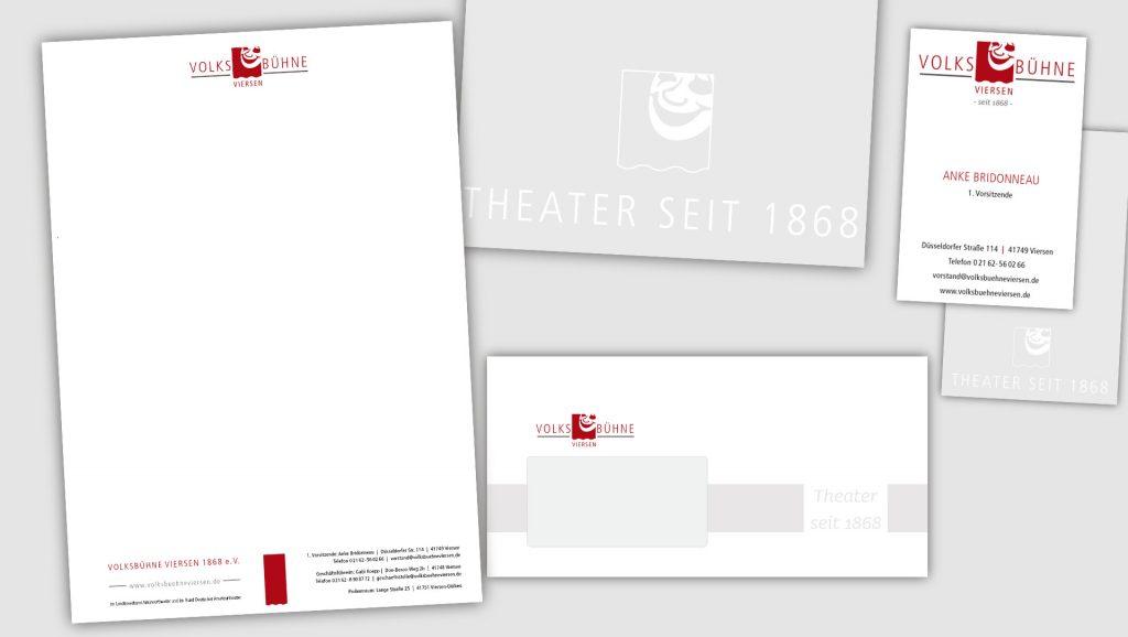 Volksbühne Viersen Briefbogen