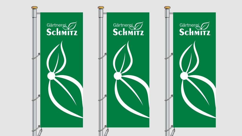 Gärtnerei Schmitz Fahnen
